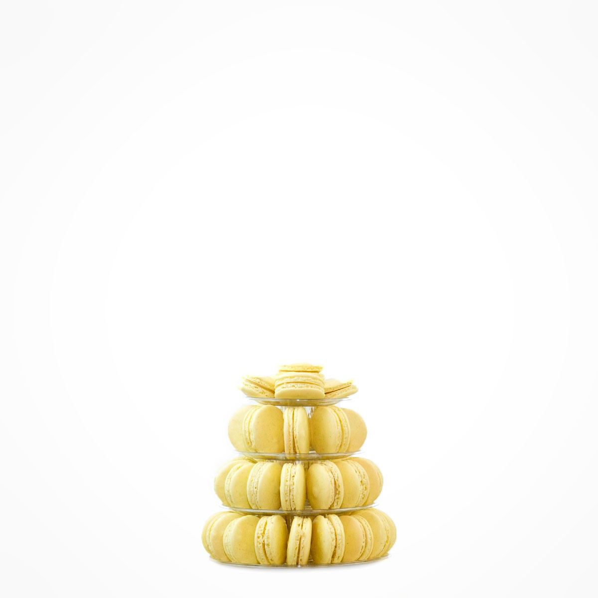 4-tiers tower  45 macarons